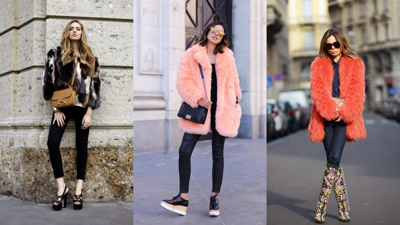 The Many Different Ways To Wear Fur